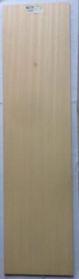 Abachi-Furnier 1000 x 250 x 1 mm, 10  Stck.