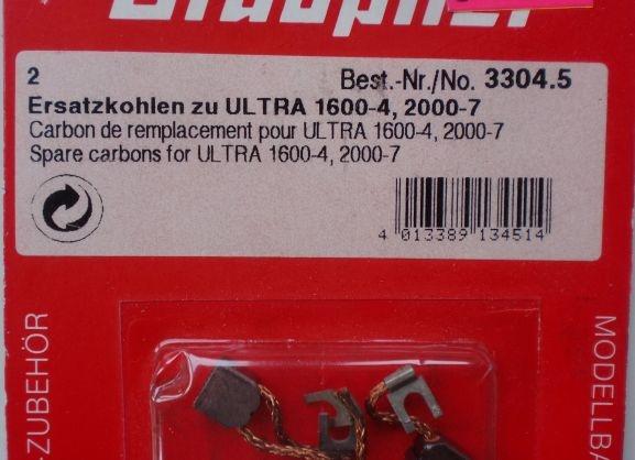 Ersatzkohlen zu Ultra 1600-4, 2000-7