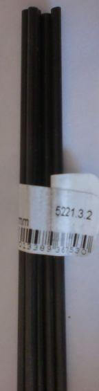 Kohlefaserrohr   3 mm / 2 mm