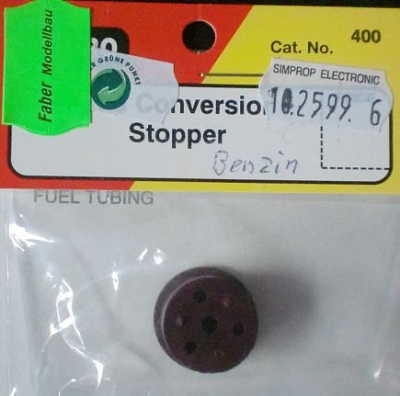 Ersatzverschlußstopfen, 16 mm für Benzin