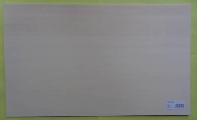 Pappel-Sperrholz 500 x 300 mm,   3 mm dick