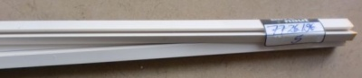 5 Stück Plastikprofil 3-Kant 90° 1000 x 6 mm