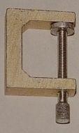 Aluminium-Zwinge, Ausladung: 35 mm, Spannweite: 47 mm