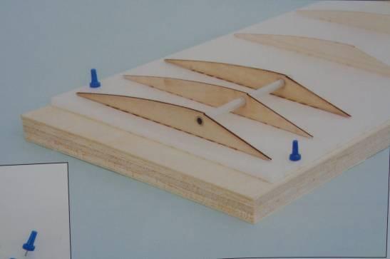 Helling-Baubrett aus Balsasperrholz