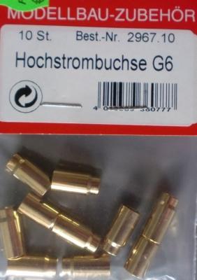 Hochstrombuchse G6(10) - vorerst nicht mehr lieferbar/1.4.20