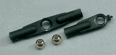 Kunststoff-Kugelkopf-Set mit Kugeln