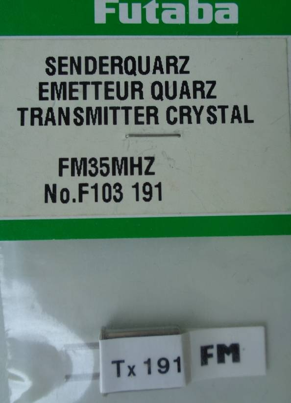 FM-Senderquarz 35.910  MHz, Kanal 191 FM