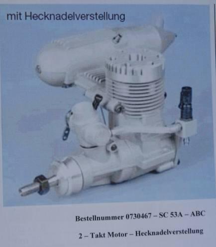 SC 53 AERO HECKNADELVERST. mit Schalld. 8,72 ccm