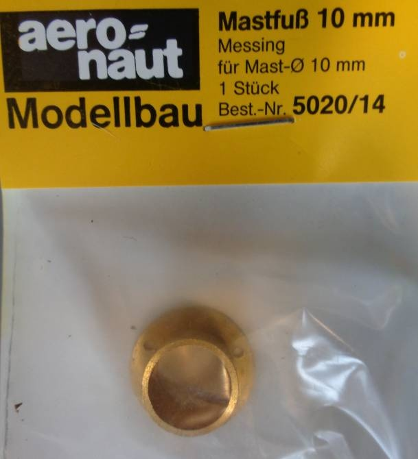 Mastfuss Ms 10mm