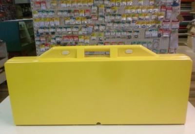 ABS-Kunststofftisch - gelb -
