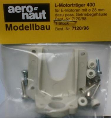 Motorträger L für Race  400 /   28mm