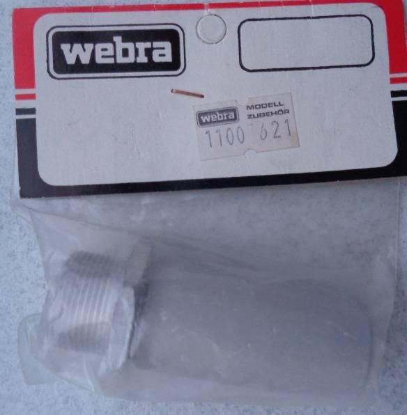 Webra-Schalldämpfer  - vorrätig -   /1.4.19