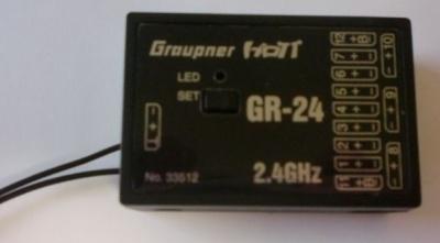 Graupner-Empfänger GR-24 HoTT