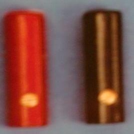 KUPPLUNGEN für Bananenstecker rot/schwarz, einseitig (1Paar)