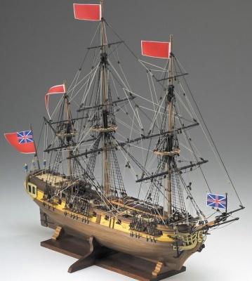 Greyhound HMS Baukasten, Länge 51 cm
