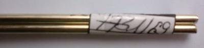 Neusilberdraht, Ø 3 mm, Länge: 1 m, 1 Stück