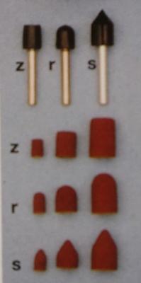 Schleifkappenträger, Schaft-Ø 3 mm, zylindrisch, 5 x 11 mm