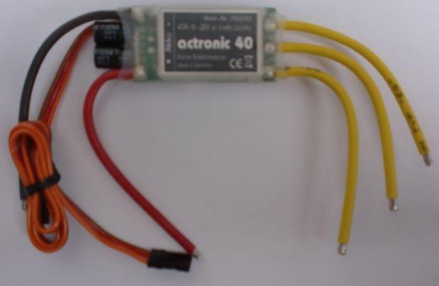 actronic 45bec - Regler -