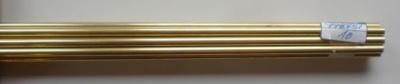 Messingrohr  5.0/4.1 mm, Länge 1 m, 1 Stück