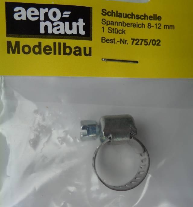 Schlauchschelle, verstellbarer-Ø 8-12 mm, 1 Stück