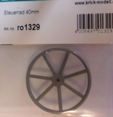 Steuerrad 40 mm   1 Stück