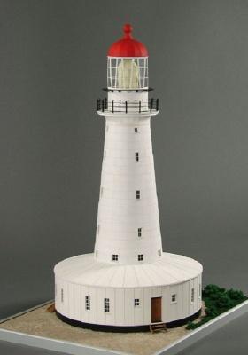 Leuchtturm North Reef Laser Kartonbausatz