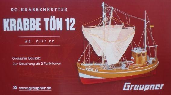 KRABBE TÖN 12 RC Boot,    - vorerst nicht lieferbar -