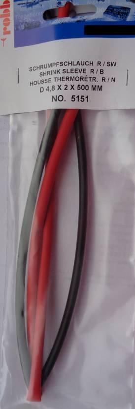 Schrumpfschlauch Ø 4,8 mm, 1 m