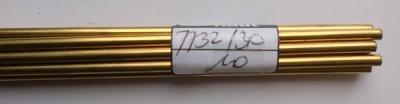 Messingdraht 3 mm, 1 m lang, 1 Stück