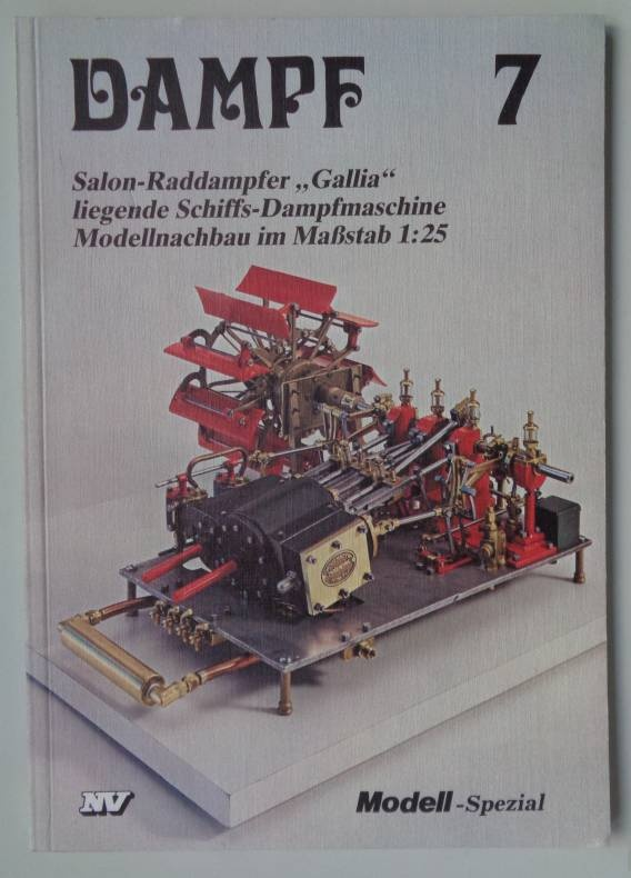 Fachbuch Dampf 7     -vorrätig-   Sonderpreis
