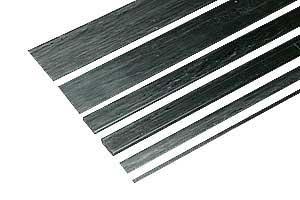 Kohlefaser-Vierkantstab 1,2 mm x 0,8 mm, 1 m lang