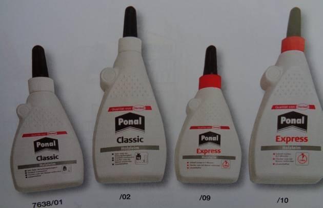 PONAL Classic Holzleim, Flasche 120 g