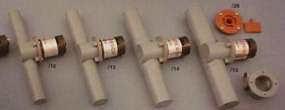 Querstromruder Kunststoff 19mm