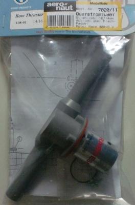 Querstromruder Kunststoff 16mm