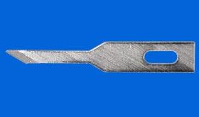 Klingen schmal spitz (5 Stück)   mit Schaftbreite 6 mm.