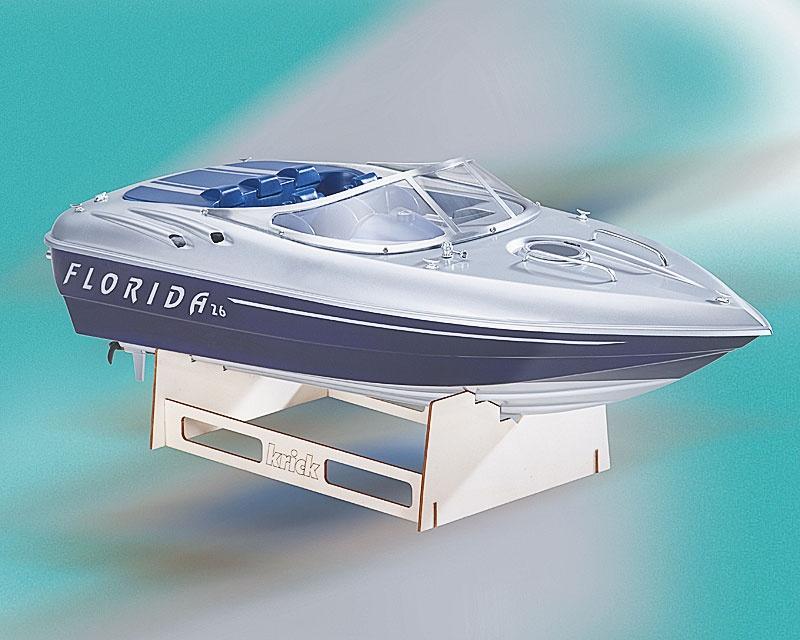 Sportboot Florida 26 mit Beschlagsatz, Länge 72 cm