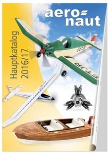 Aeronaut-Katalog 2016/17  - zurzeit nicht lieferbar -