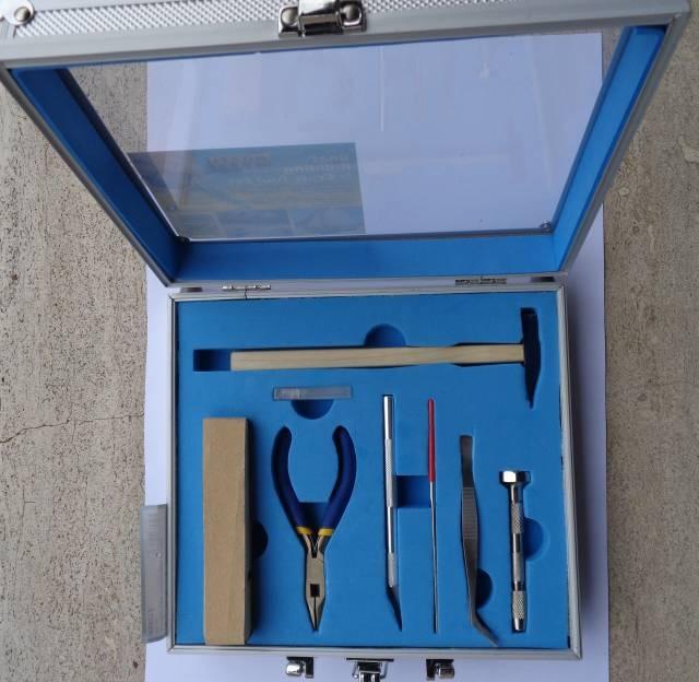 Schiffmodell Werkzeugset 12 Teile