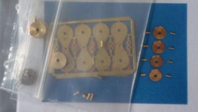 Messingblock 5 mm Bausatz (4 Stk) als Bausatz
