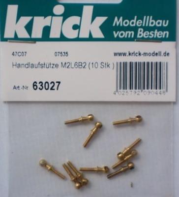 Handlaufstütze M2L6B2, 10 Stück