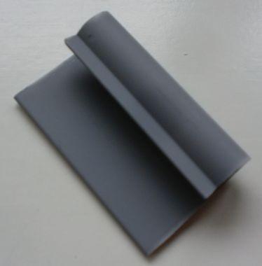 Halterung,  Länge 5 cm, Innen-Ø 0,8 cm, Plattenbreite 2,3 cm