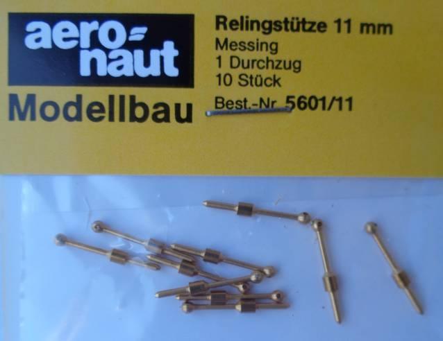 Relingstütze 1D/11mm