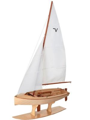 Vaurien Segeljolle Bausatz , Länge 45 cm