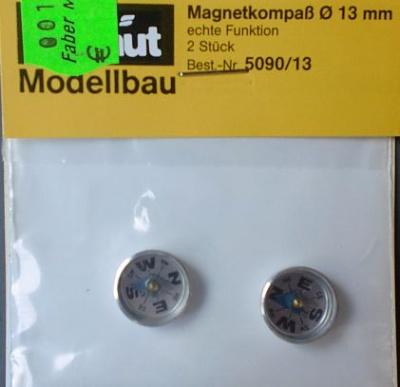 Magnetkompaß Ø 13 mm