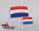 Flaggensatz Niederlande 25x40 mm / 15x30 mm