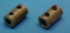 Buchsenkupplung 4/5,00 mm, Länge 20 mm, Ø 10 mm