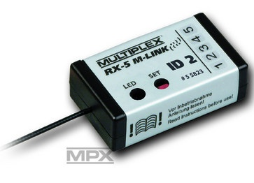 Empf. RX-5 M-LINK ID 2, 2,4 GHz