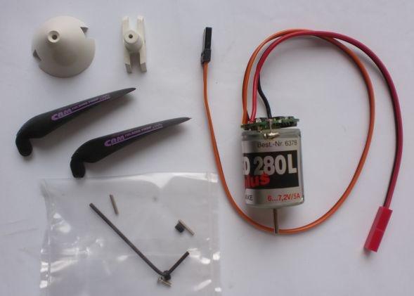 Pushprop Antrieb Speed 280 Race PLUS L, 6 V, mit inte