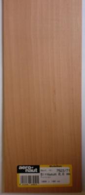 Birnbaum-Furnier 1000x100x0.6 mm, 10 Stück