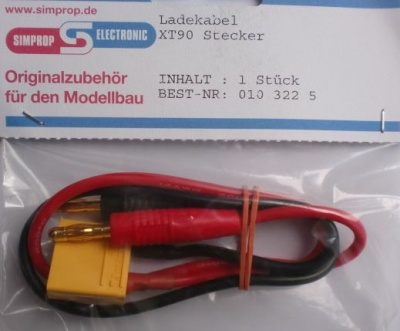 Ladekabel XT90 Stecker